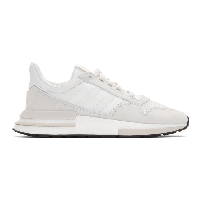 adidas Originals White ZX 500 Rm Sneakers
