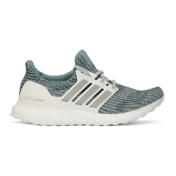 adidas Originals Green & White Parley Ultraboost Sneakers