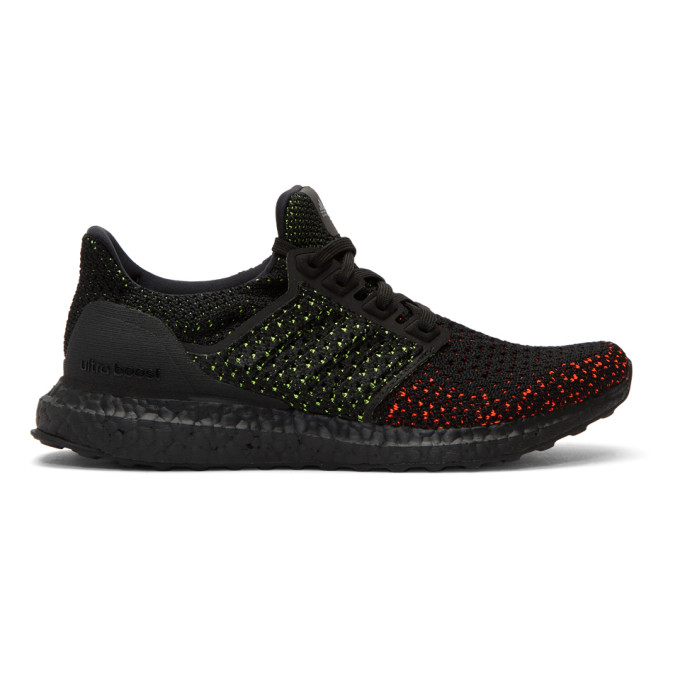 adidas Originals Black & Red UltraBOOST Clima Sneakers
