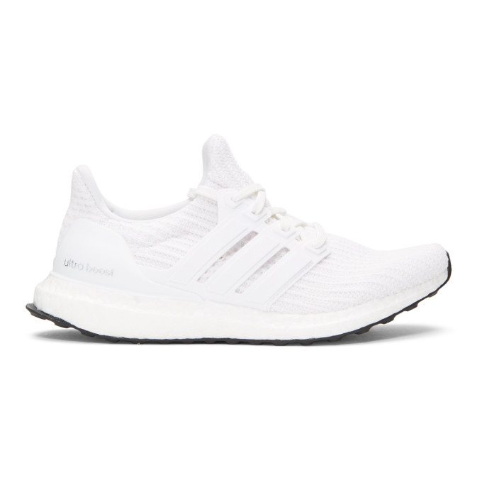 adidas Originals White UltraBOOST Sneakers