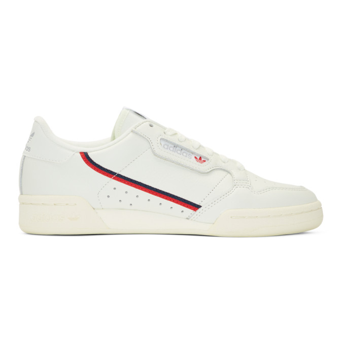 adidas Originals White & Off-White Continental 80 Sneakers