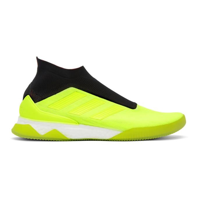 adidas Originals Yellow Predator Tango Sneakers