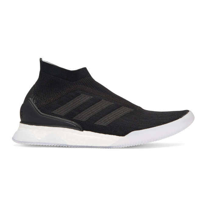 adidas Originals Black & White Predator Tango 18+ High-Top Sneakers