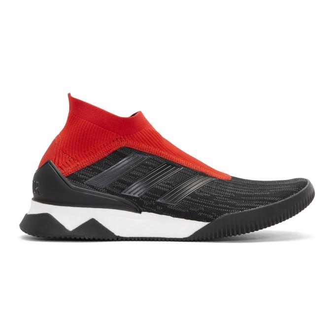 adidas Originals Black & Red Predator Tango Sneakers