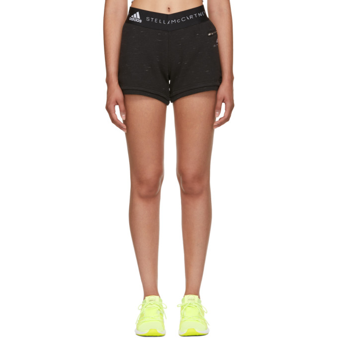 Image of adidas by Stella McCartney Black ESS Shorts