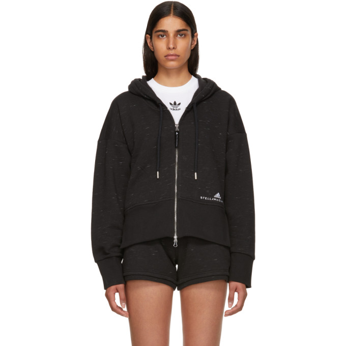 Image of adidas by Stella McCartney Black ESS Hoodie