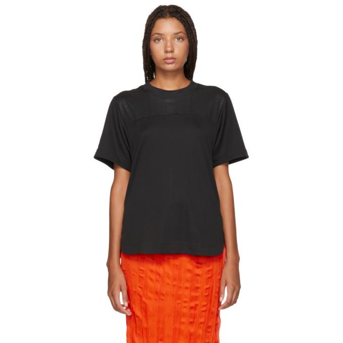 Image of adidas by Stella McCartney Black Train Climachill T-Shirt
