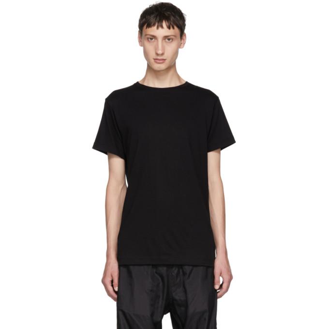 Image of John Elliott Black Classic Crewneck T-Shirt