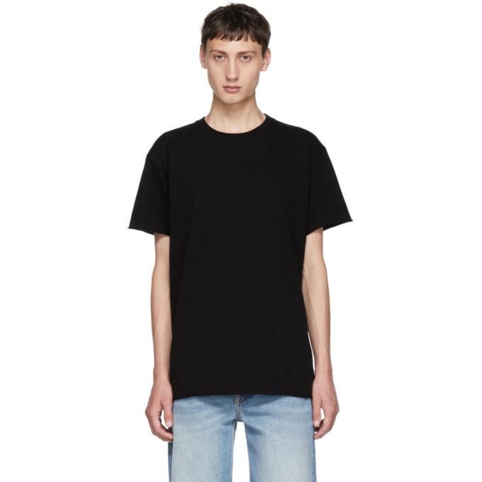 Image of John Elliott Black Anti-Expo T-Shirt