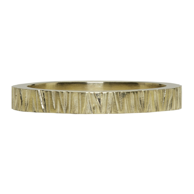 Image of Tom Wood Gold Structure Ring
