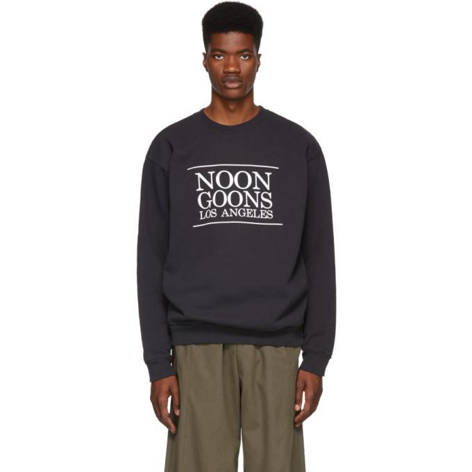 Image of Noon Goons Black Los Angeles Sweatshirt