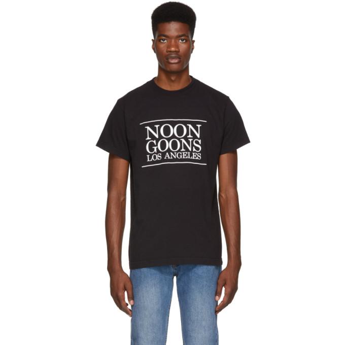 Image of Noon Goons Black Los Angeles T-Shirt