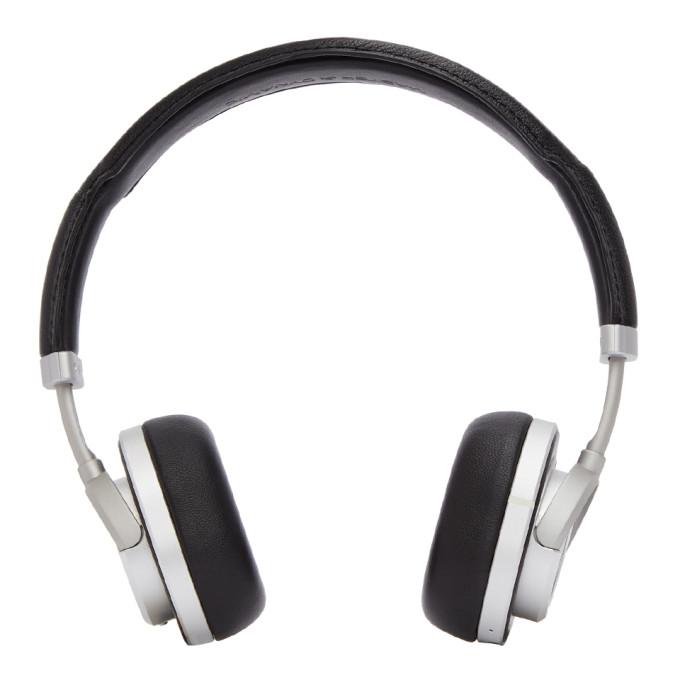Image of Master & Dynamic Black & Silver Wireless MW50 Headphones