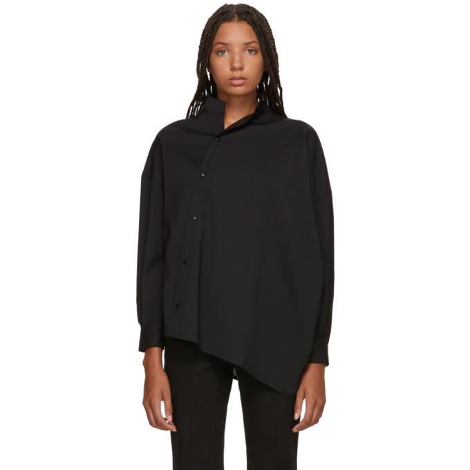 Image of Totême Black Noma Shirt