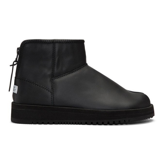 Suicoke Black Toby-Lab-LO Boots