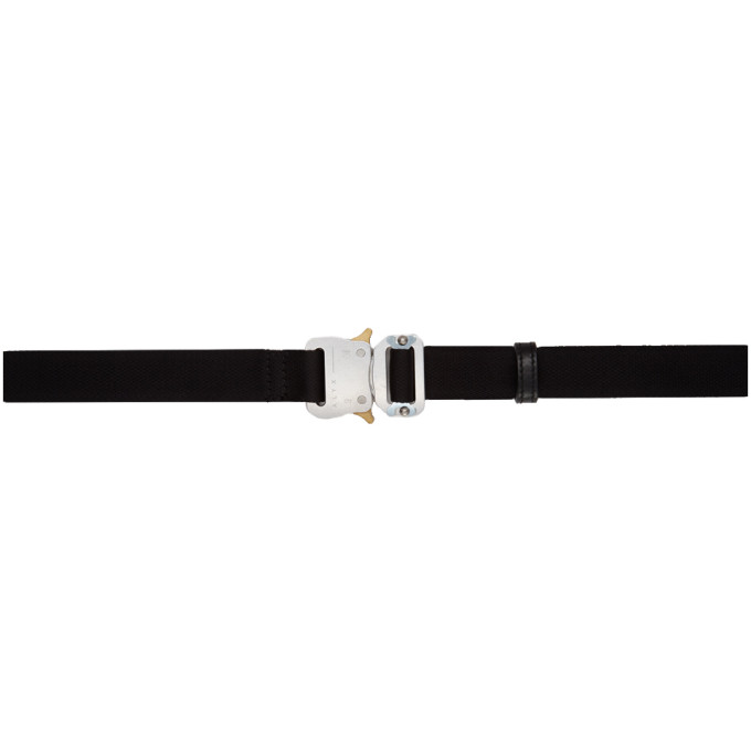 1017 ALYX 9SM Black Medium Rollercoaster Belt 182776F00100101