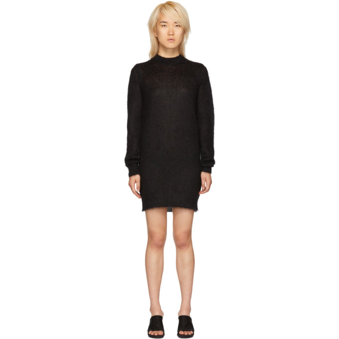 1017 Alyx 9SM Black Mohair Stevie Dress