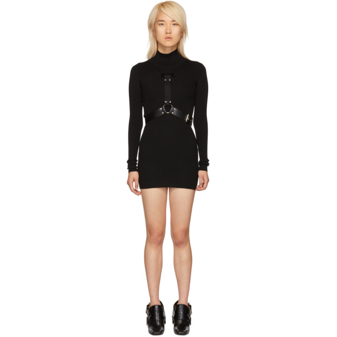 1017 Alyx 9SM Black Bondage Turtleneck Dress