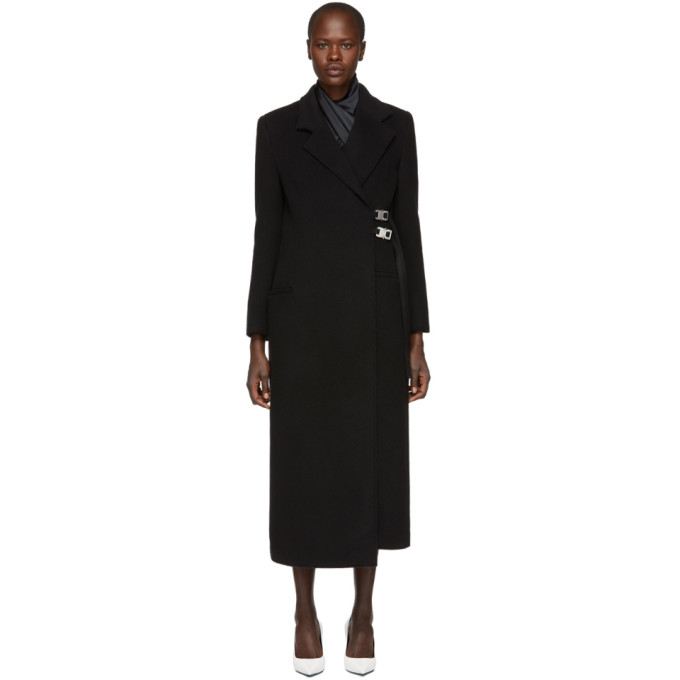 1017 Alyx 9SM Black Wool Statesman Coat