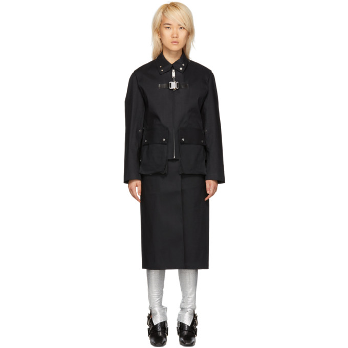 1017 Alyx 9SM Black Mackintosh Edition Formal Coat