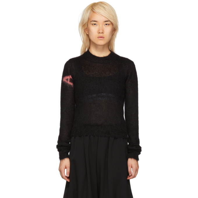 1017 Alyx 9SM Black Mohair Judy Sweater