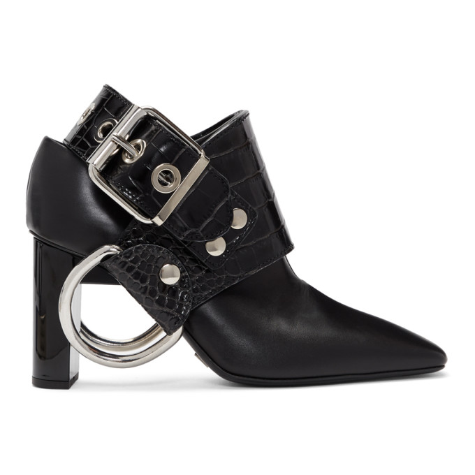 Alyx Black Sling Boots