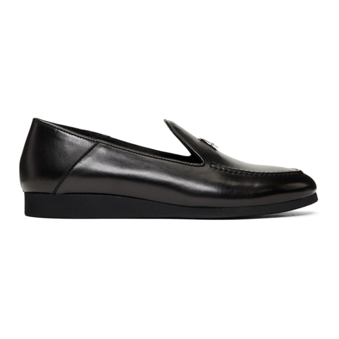 1017 Alyx 9SM Black Convertible St Marks Loafers