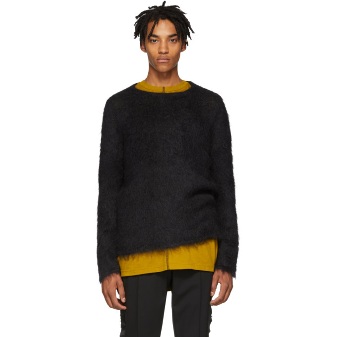 1017 Alyx 9SM Black Mohair Briar Sweater