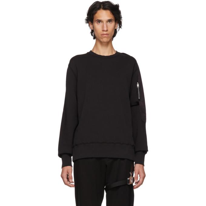 1017 Alyx 9SM Black Sling Sweatshirt