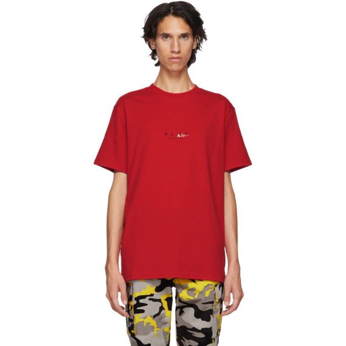 1017 Alyx 9SM Red Logo T Shirt