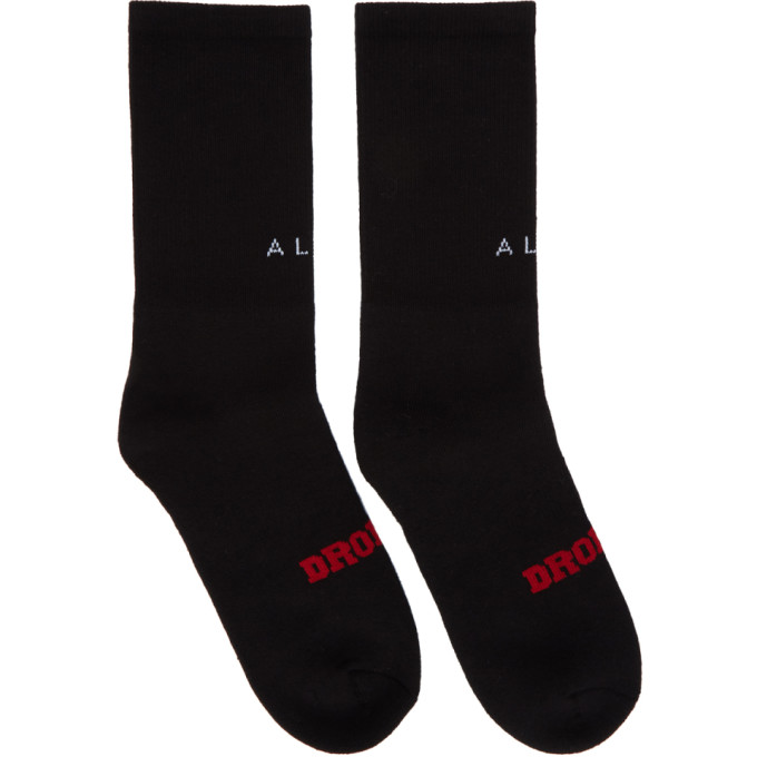 1017 Alyx 9SM Black Dropout Socks