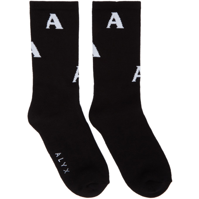 1017 Alyx 9SM Black Triple A Socks