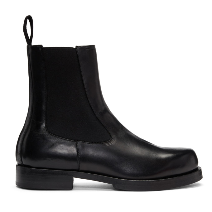 Alyx Black Leather Chelsea Boots