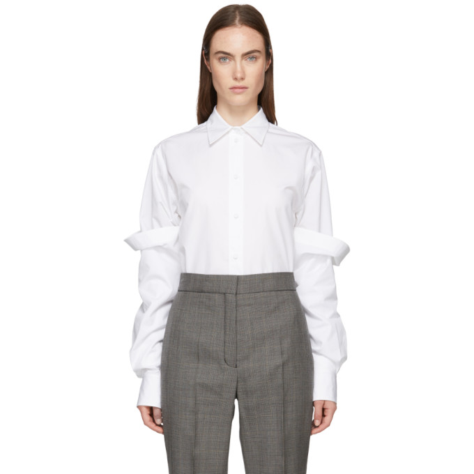 Ports 1961 White Double Sleeve Shirt