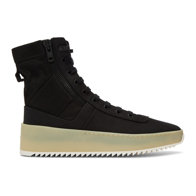 Fear of God Black Jungle Sneakers
