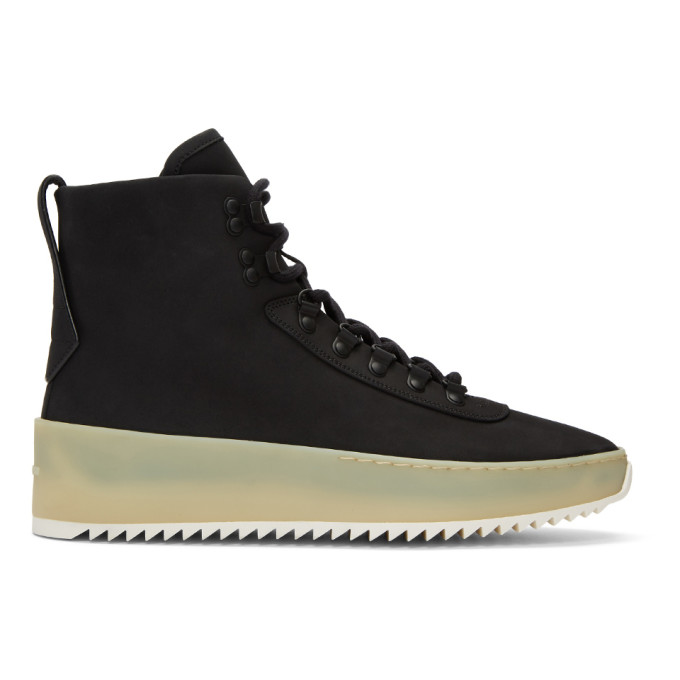 Fear of God Black Hiking Boots