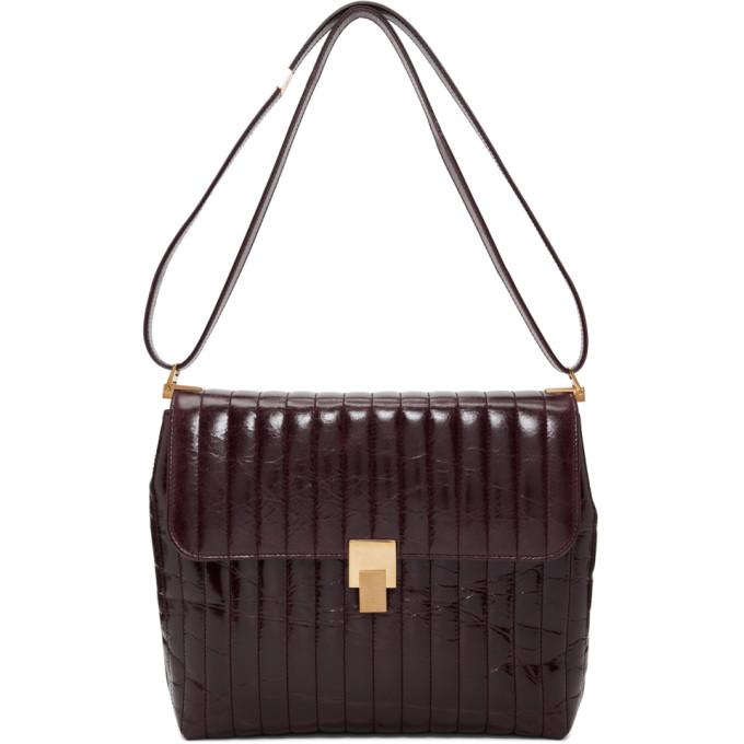 Victoria Beckham Burgundy Quinton Bag