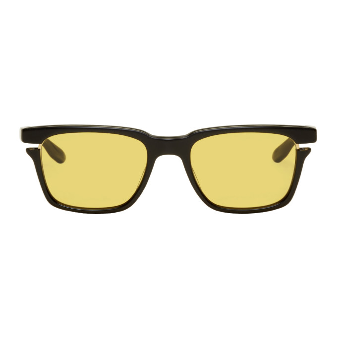 Image of Dita Black & Yellow Avec Sunglasses