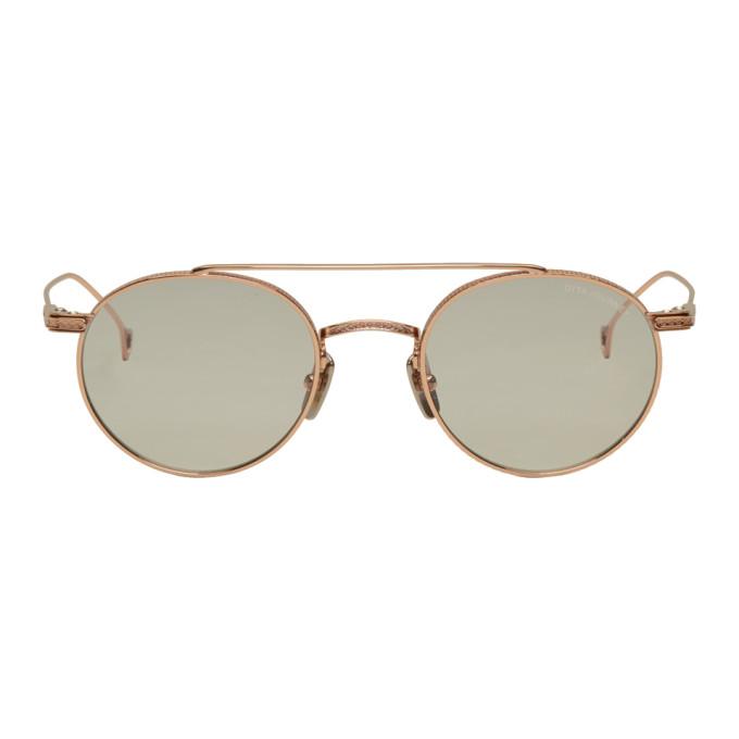 Image of Dita Rose Gold Journey Sunglasses