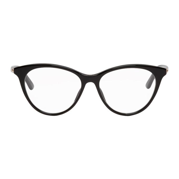 Image of Dior Black Montaigne 57 Glasses