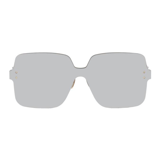 Image of Dior Silver Color Quake 1 Sunglasses