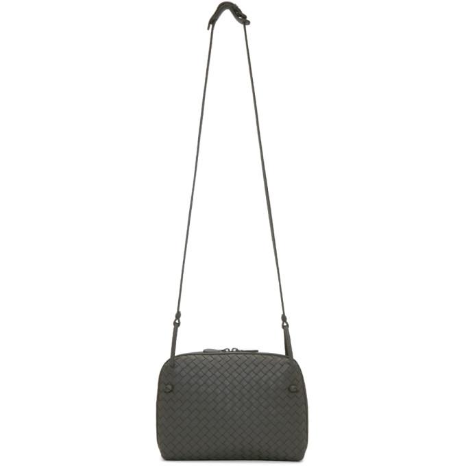 Bottega Veneta Grey Intrecciato Nodini Bag