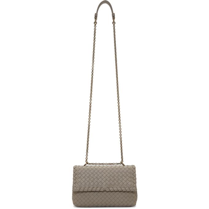 Bottega Veneta Tan Olimpia Flap Bag
