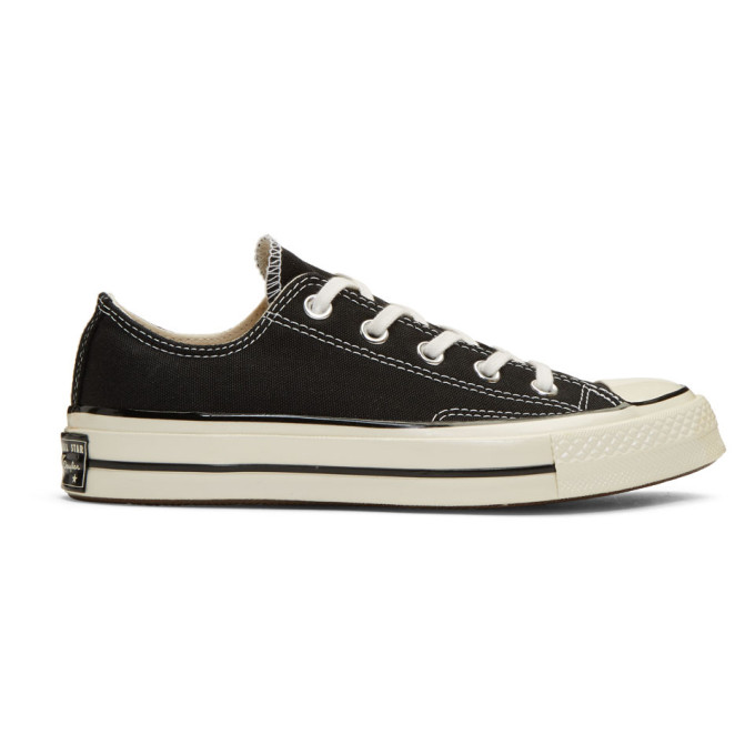 Image of Converse Black Chuck Taylor All-Star '70 Low-Top Sneakers