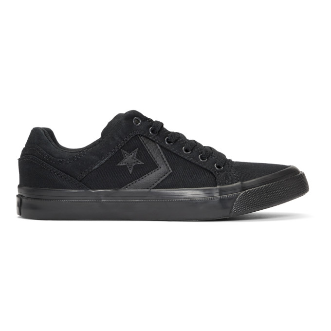 77239a326066f3 Converse Black El Distrito Ox Sneakers