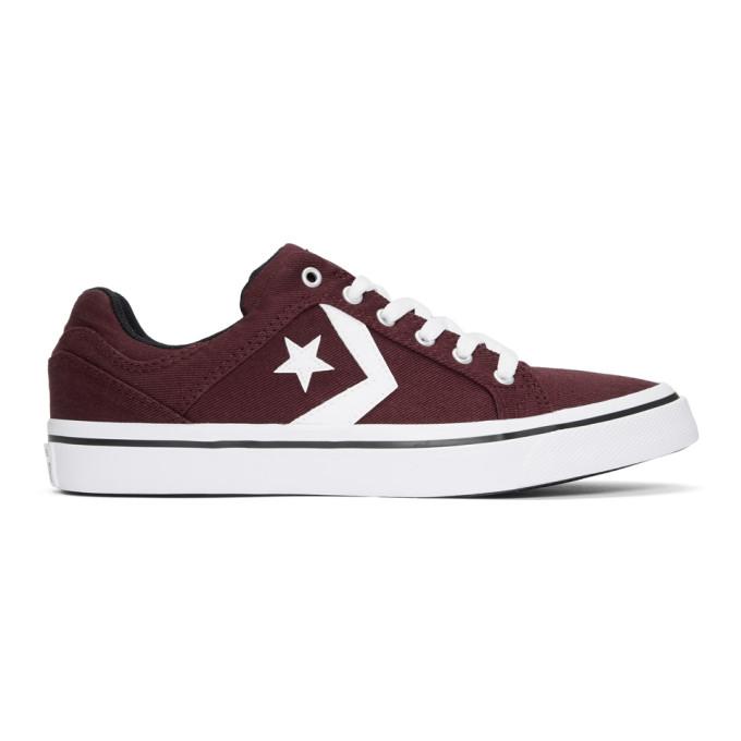 Converse Burgundy El Distrito Ox Sneakers