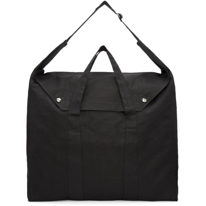 Our Legacy Black Canvas Tote