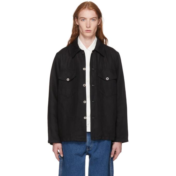 Image of Our Legacy Black De Con Jacket Shirt