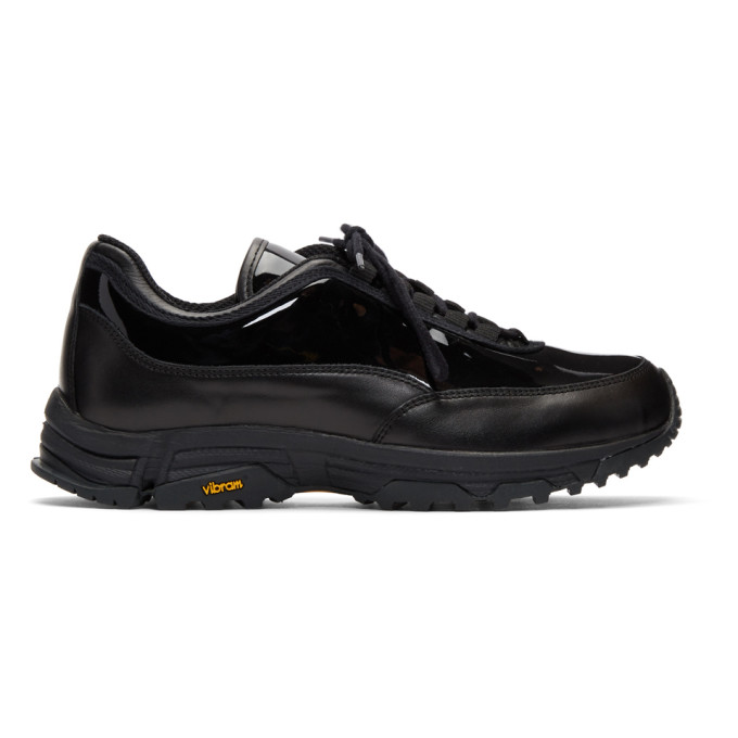 Our Legacy Black Poseidon Patent Sneakers