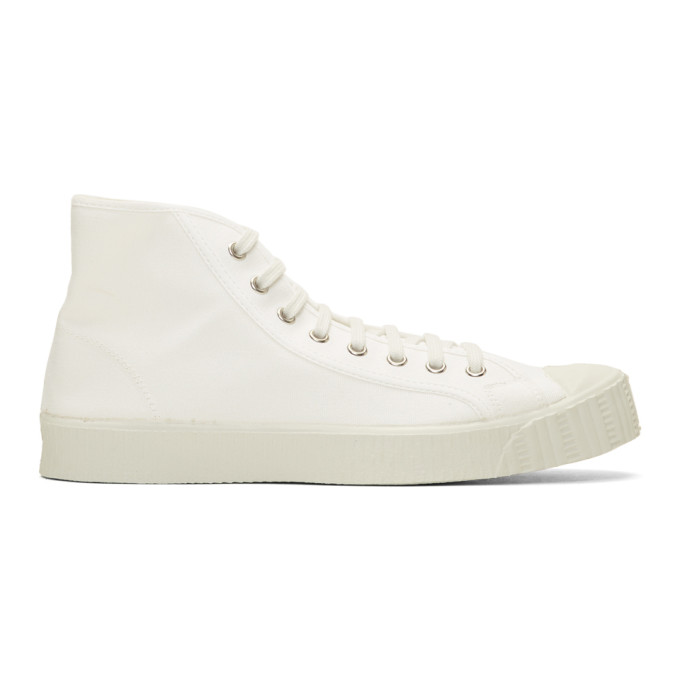 Spalwart White Special Mid Sneakers